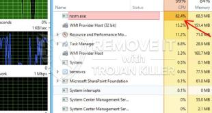 How to remove Nssm.exe CPU Miner Trojan