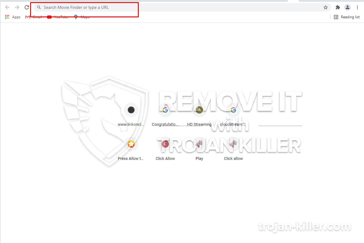 Moviefindersearch.com virus