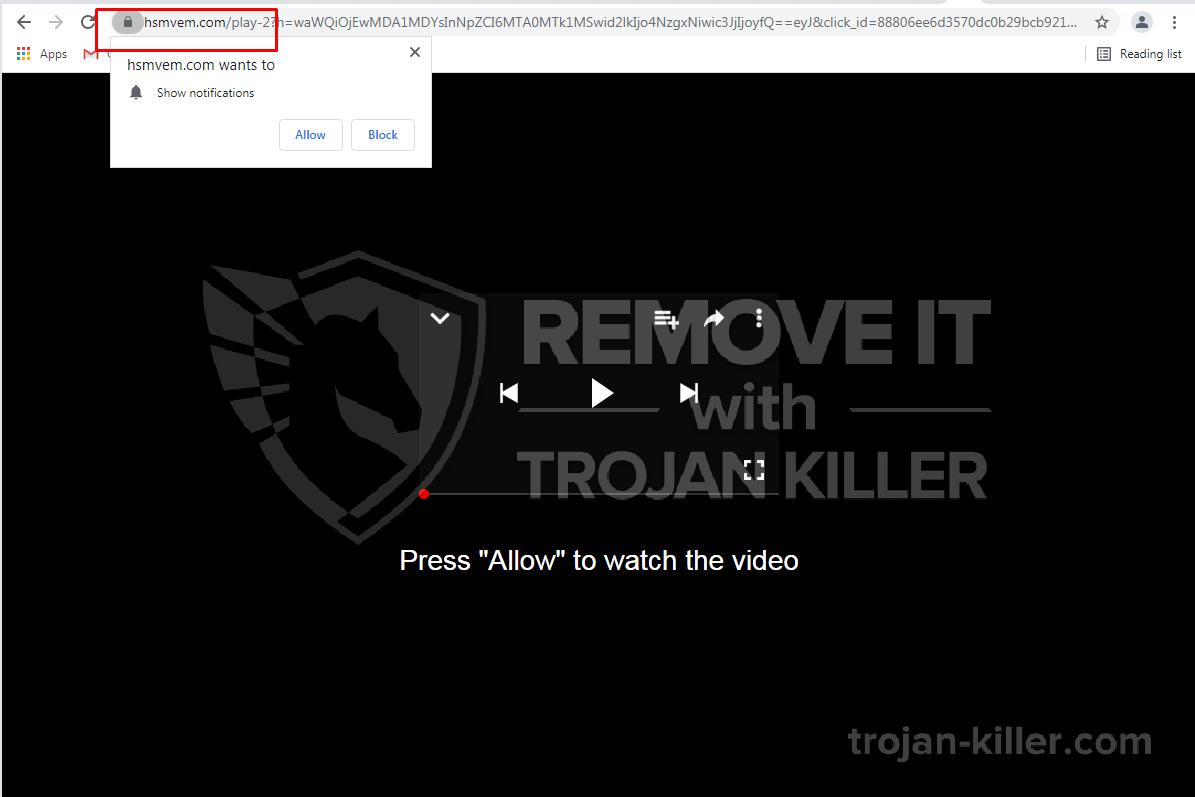 Hsmvem.com virus