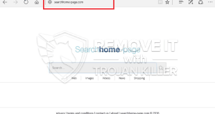 How to remove Searchhome-page.com?