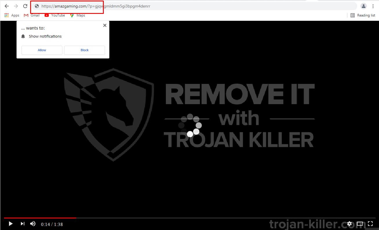 Amazgaming.com virus