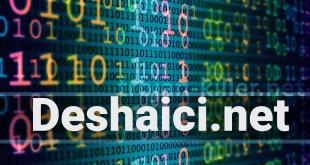 Deshaici.net 제거 알림 표시