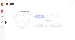 Way to remove ProSportSearch.com?