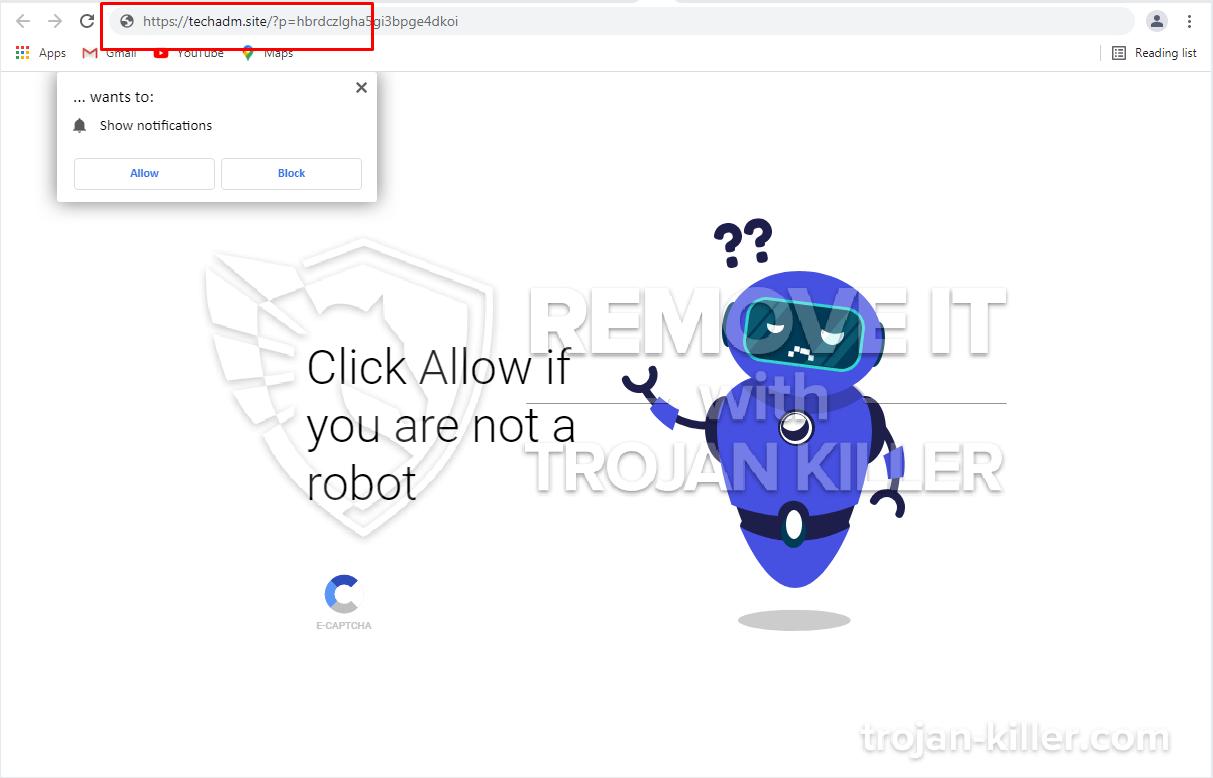 Techadm.site virus