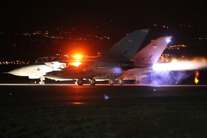 Britain Executes First Airstrike on ISIS