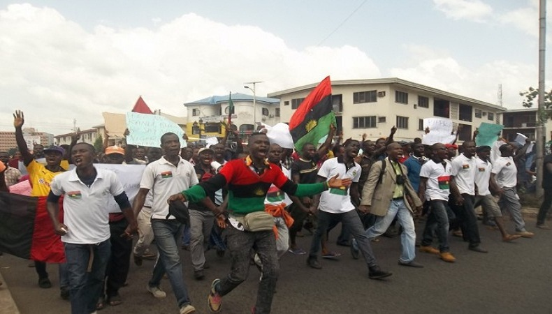 Biafra Claims Responsibility For Reckless Vandalism