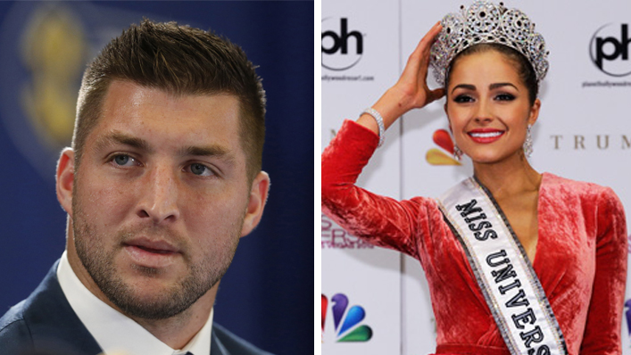 Miss Universe Dumps Christian Boyfriend Tim Tebow For Refusing To Have Sex With Her