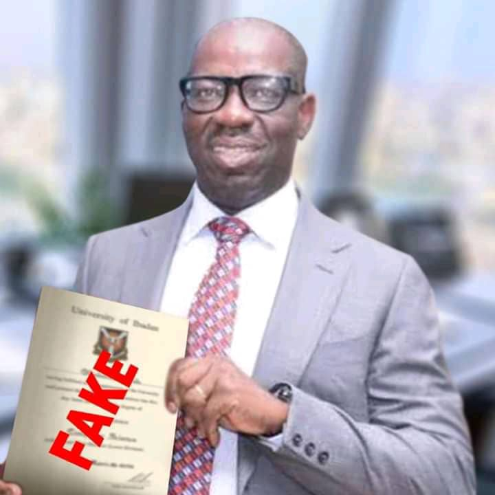 Gov. Obaseki Forgery And Perjury, A Case Of Self Destruction