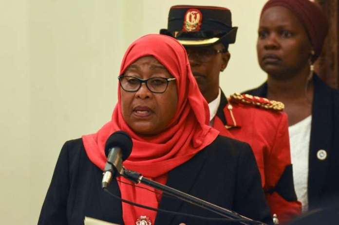 Tanzanian President Ditches Magufuli's Rejection Of Face Masks
