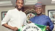 Nigerians Condemn Mikel Obi For Pledging Support For Kogi Governor, Yahaya Bello