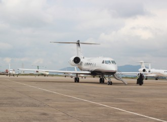 Tragedy Averted As Plane Narrowly Escapes Crash After Skidding Off Lagos Airport Runway