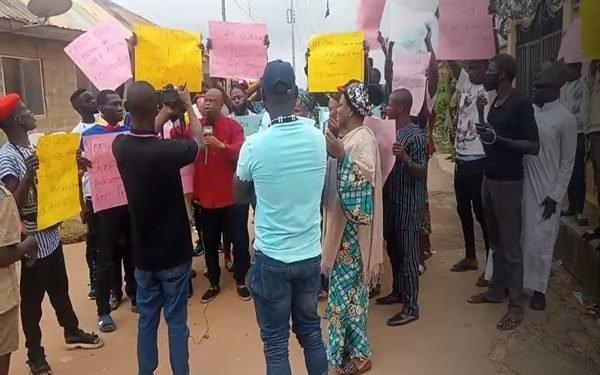 Protest Rocks Ibadan Over Sunday Igboho's Detention In Cotonou
