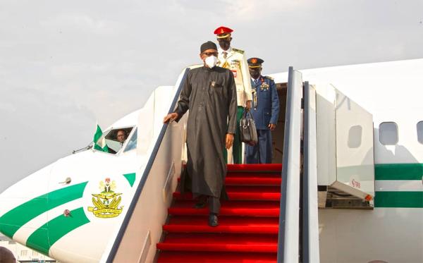 Breaking: Buhari Returns To Abuja Today To Avoid Constitutional Crisis