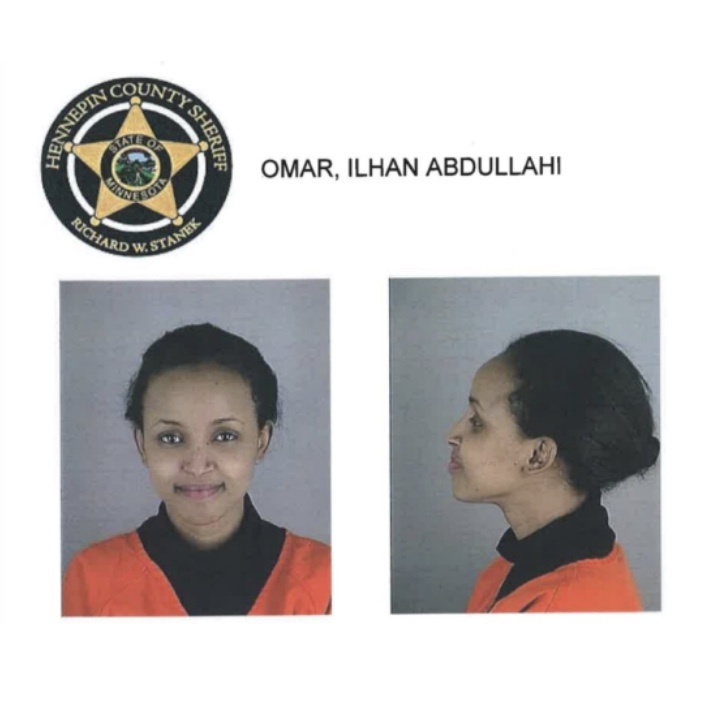 Ilhan Omar, anti-American Muslim Traitor and US Representative for Minnesota.