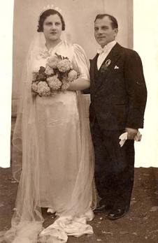 Albania, Sol and Rahamim Rubenovic on their Wedding Day
