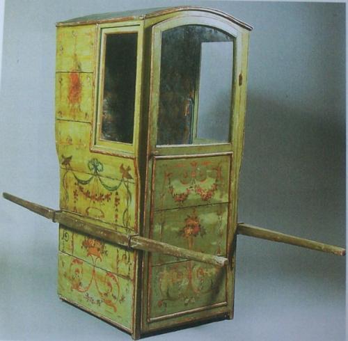 Chaise à Porteur Trollcalibur
