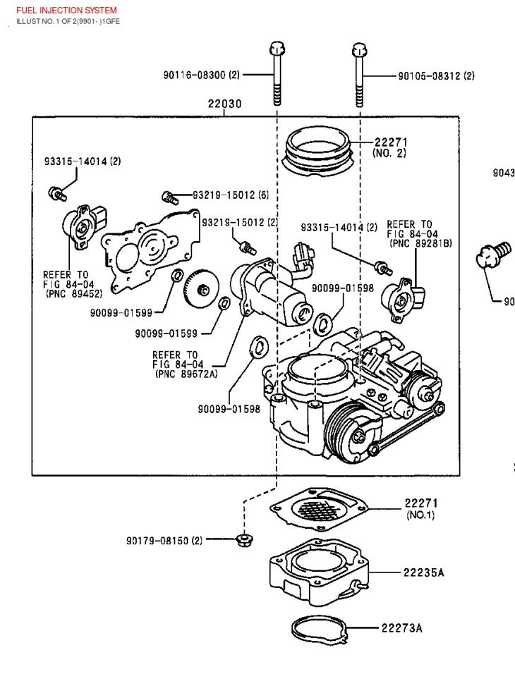 wiring diagram toyota altezza