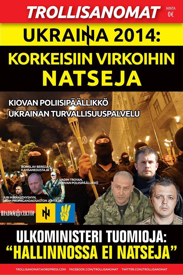 Trollisanomat #14 – Ukrainan hallintoon nimitetään natseja kiihtyvällä tahdilla