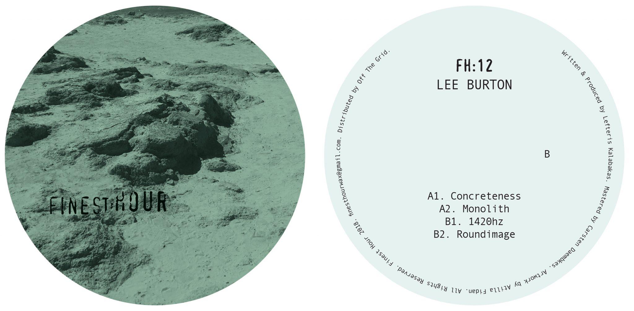 Review Lee Burton   FH20 [Finest Hour]   Trommel Music