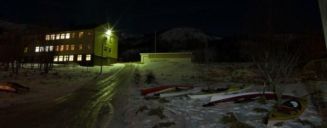 Engvik skole, november 2014. Foto: Gunnar Noer