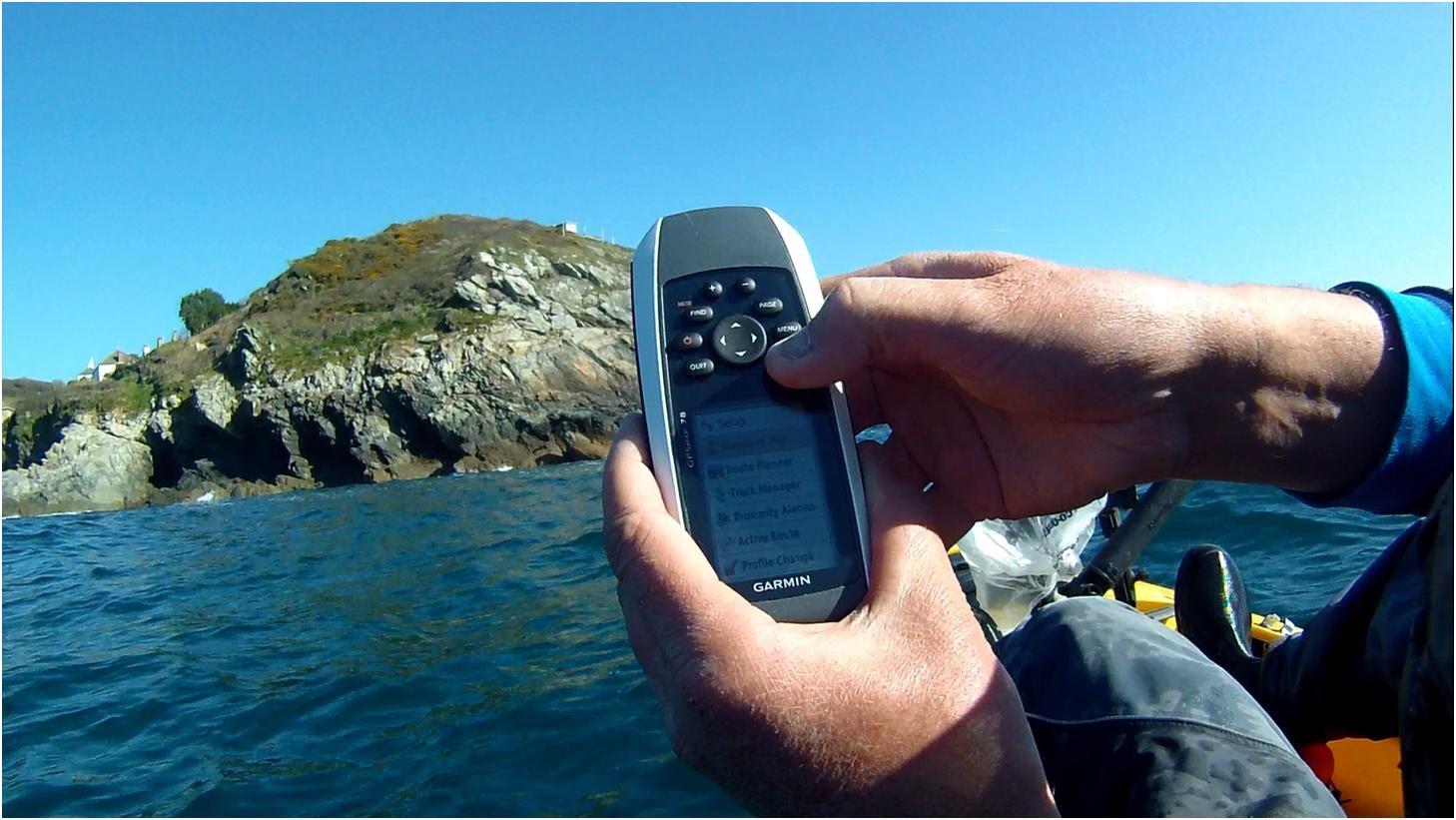 GPS kayak
