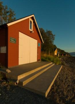 Nytrappa på nynaustet, ferdig sommeren 2014