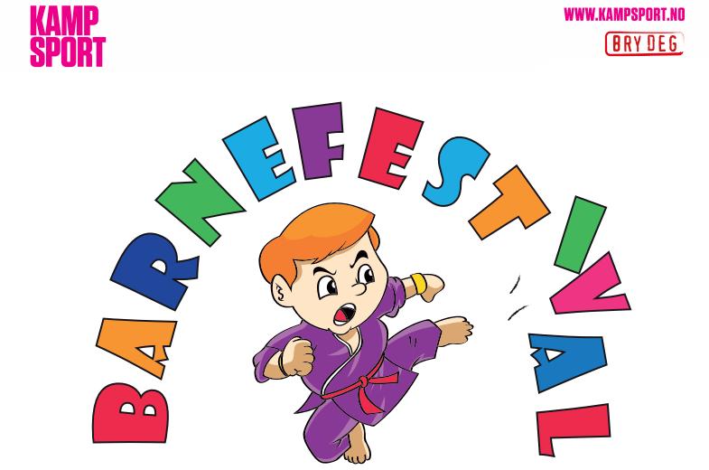 Barnefestival i Trondheim Spektrum lørdag 21.november kl.17-19