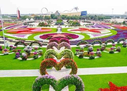 Vườn hoa kỳ diệu tại Dubai