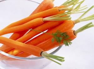Cà rốt làm chậm sự phân hủy collagen.