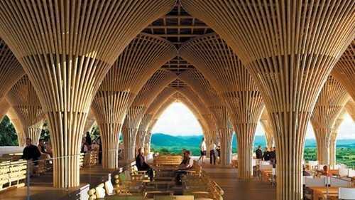 Phối cảnh một nhà hàng đang xây dựng tại Mexico của Công ty Võ Trọng Nghĩa