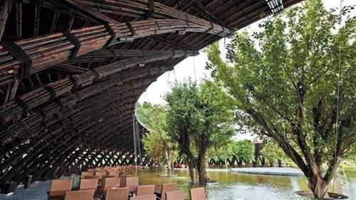 Công trình Bamboo - Wings ở Đại Lải (Vĩnh Phúc)