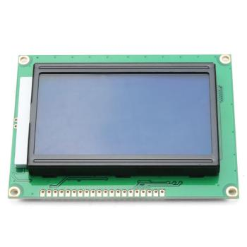 12864 128 x 64 Graphic Symbol Font LCD Display Module