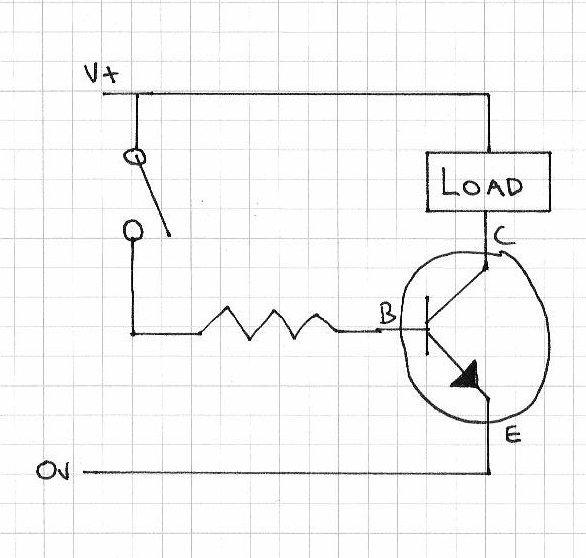 bc548 transistor switch circuit