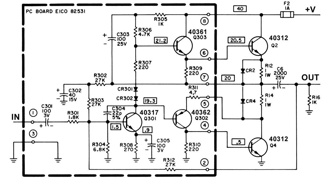 Modifying and Restoring the Cortina 3070