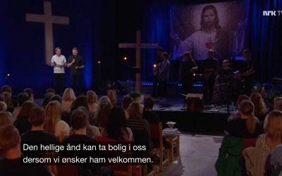 Ukas ros går til NRK for gudstjenesten 1.pinsedag