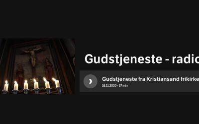 Ukas ros går til NRK og Kristiansand Frikirke