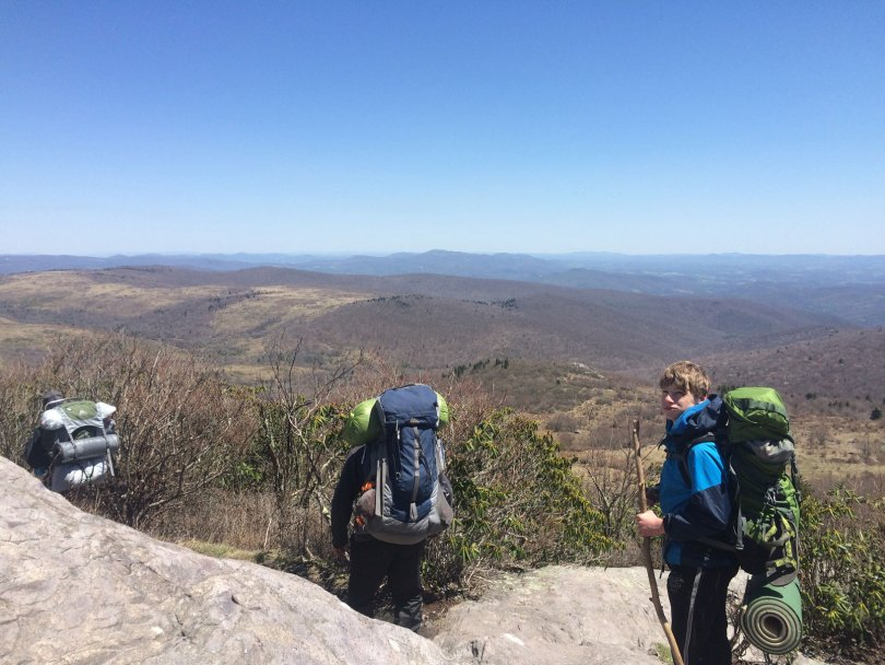 On the way to Mount Rogers