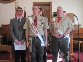 Jared Eagle Ceremony