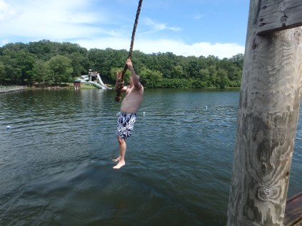 Huck's Cove Rope Swing - Mr Feldewerth