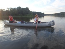 Tuesday Canoe Overnight - Steven and Chris