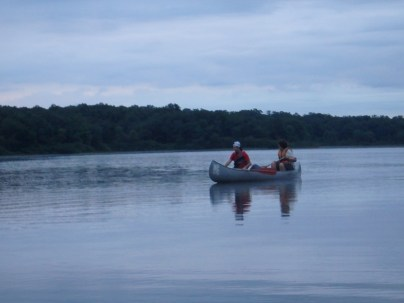 Return From Tuesday Canoe Overnight - Drew and Ian