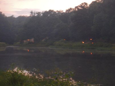 OA Tap Out - View Across The Cove as Day Turns to Dusk