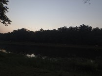 OA Tap Out - View Across The Cove as Dusk Settles to Night