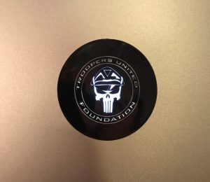 TUF Logo Sticker for MacBook