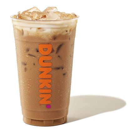 Girl Scout Coconut Caramel Iced Coffee