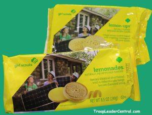 Girl Scout Cookies Lemonades and Lemon-Ups