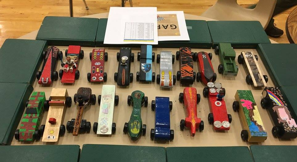 No Rules Pinewood Derby