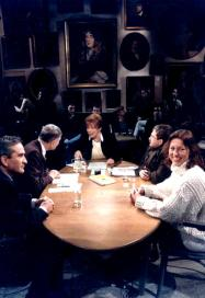 Sonja Barend in debat met o.a. cultuurfilosoof Rietdijk en Jan Troost