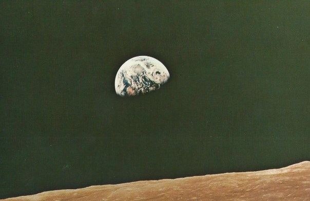 foto aarde vanuit de ruimte.