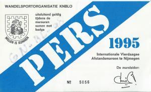 perskaar 1995 vierdaagse